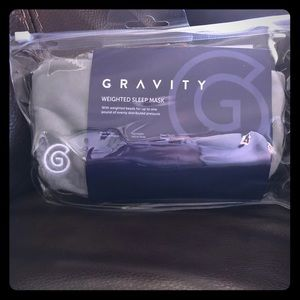 Gravity ~ Weighted Sleep Mask 😴